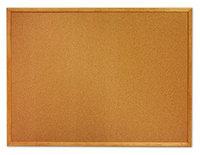Quartet® Cork Board w/ Wood Frame, 36