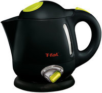 T-fal T Fal BF6138US Balanced Living 1 Liter 1750 Watt Electric Mini Kettle With Variable Temperature Black HHK0OPSSZ-1614