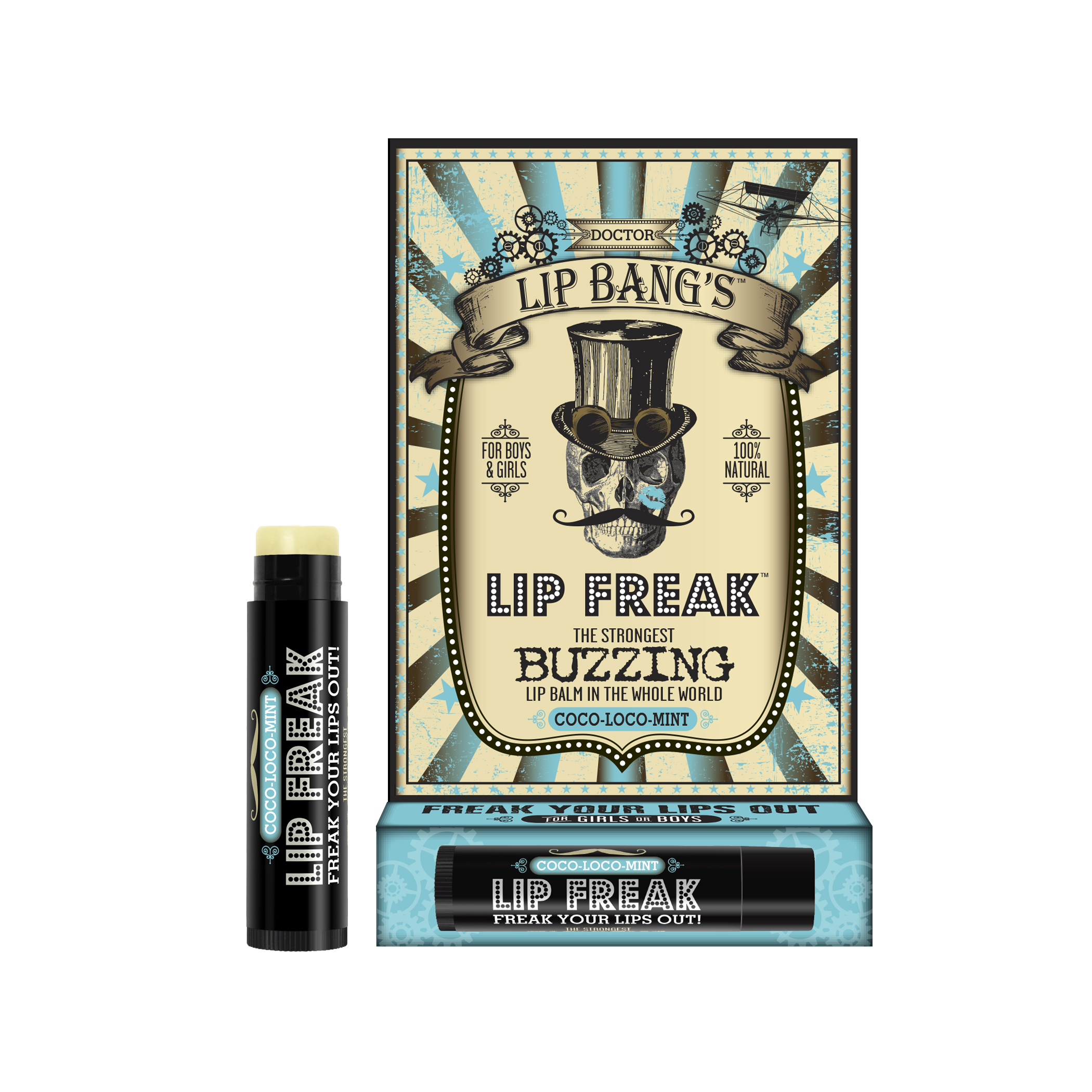 Dr. Lip Bang's Lip Freak Buzzing Lip Balm