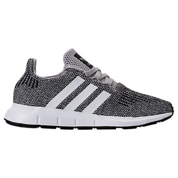 Adidas Boys' Grade School Swift Run Casual Shoes, Grey