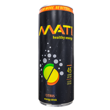 MATI Healthy Energy Drink - Citrus