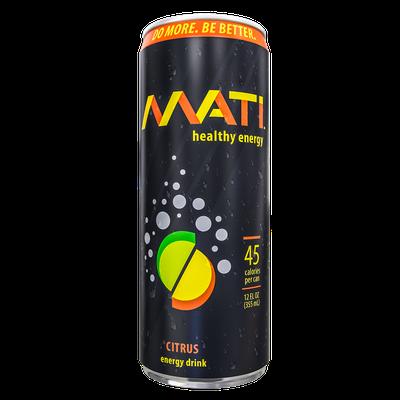 MATI Healthy Energy Drink - Citrus