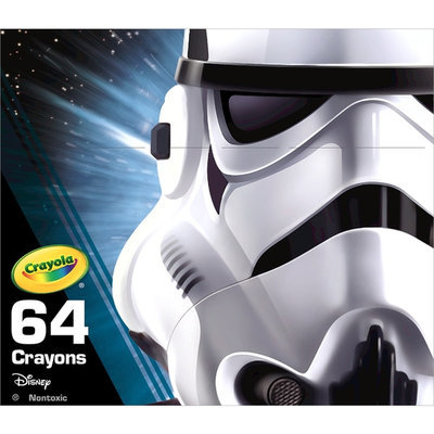 Star Wars 64-pc. Stormtrooper Crayons by Crayola