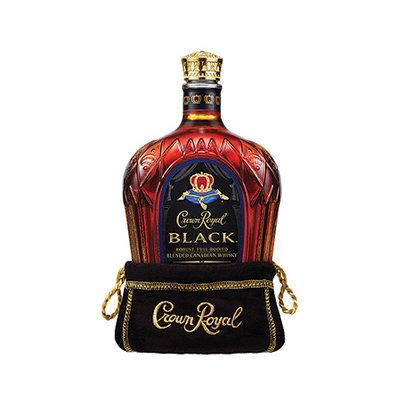 Crown Royal Canadian Whisky Black