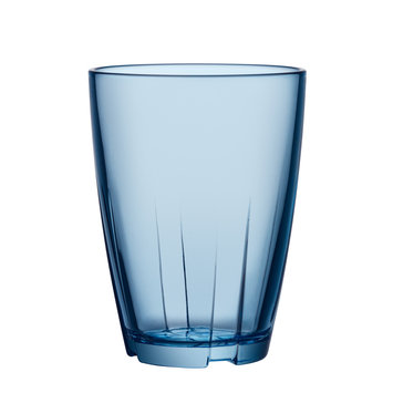 Kosta Boda Stackable Glass Tumbler (Set of 8)Water Blue - Large