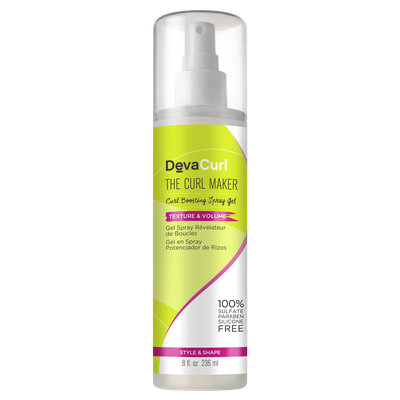 Devacurl The Curl Maker, Curl Boosting Spray Gel