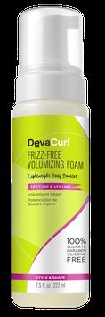 DevaCurl Frizz-Free Volumizing Foam, Lightweight Body Booster