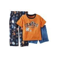 Carter's Baby Boys' 3-Piece Genius Pajamas Set