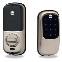 Yale Security Yale Real Living Assure Lock with Bluetooth in Satin Nickel