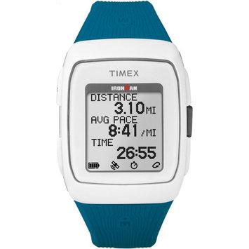Timex Ironman GPS Unisex Blue Smart Watch-Tw5m12000f5