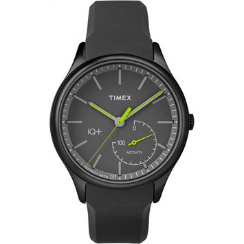 Timex Iq+ Move Unisex Black Smart Watch-Tw2p95100f5