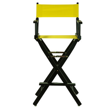 Yu Shan Director'S Chair: Yellow Bar Height Director's Chair
