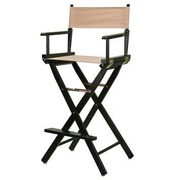 Yu Shan Director'S Chair: Tan Bar Height Director's Chair