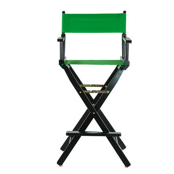 Yu Shan Director'S Chair: Bar Height Director's Chair - Green
