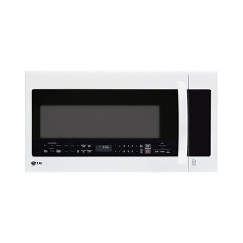 LG 2.2-cubic-foot Over-the-Range Microwave Oven White