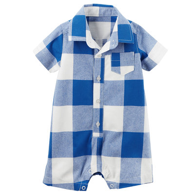Buffalo Check Romper
