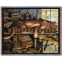 Pure Country Weavers Remington the Horticulturist Throw