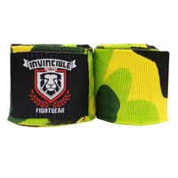 Amber Fight Gear AHR-4005-P3 180 in. Invincible Elastic Thick Printed Handwraps
