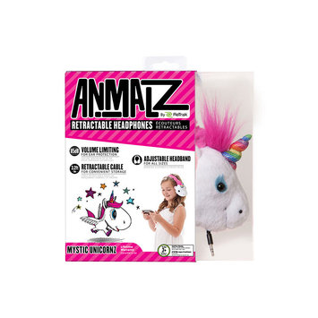 Emerge Technologies Retrak - Retrack Animalz On-ear Headphones - Unicorns