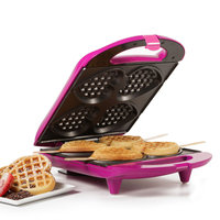 Holstein® House Heart-Shaped Waffle Maker in Red