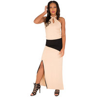 Poetic Justice® Kandi Maxi Slit Front Baby French Terry Skirt