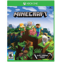 Microsoft Minecraft Explorers Pack Platinum XBox One [XB1]