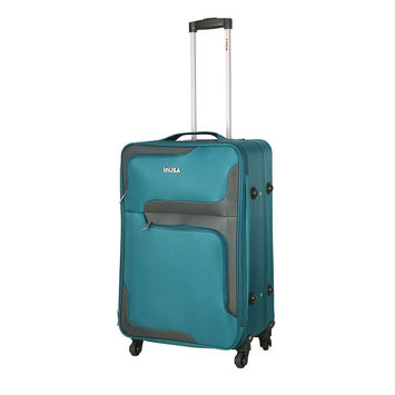 Aero-lite Co. INUSA 3D- City lightweight softside spinner 24 inch Turquoise