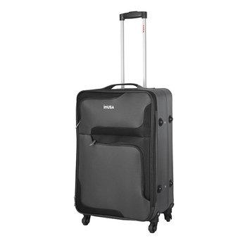 Aero-lite Co. INUSA 3D- City lightweight softside spinner 24 inch Grey