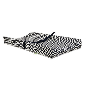 Kidicomfort Chevron Changing Pad-NAVY-One Size