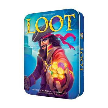 Gamewright Loot Deluxe Tin - The Plundering Pirate Card Game Card Game