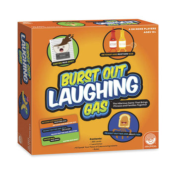 Mindware Burst Out Laughing Gas Board Game