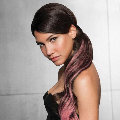 Hairdo Swedish Blonde & Pink Wavy Ponytail Hair Extension