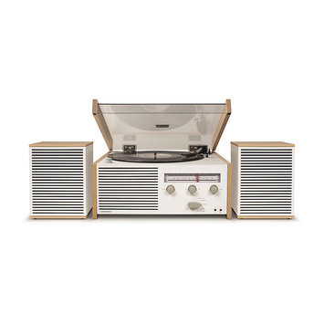 Crosley Radio Switch Ii Turntable & Speakers Entertainment System, Size One Size - Beige