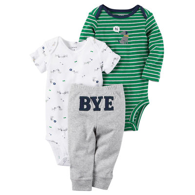 Carter's Little Baby Basics Boy Turn-Me-Around Set