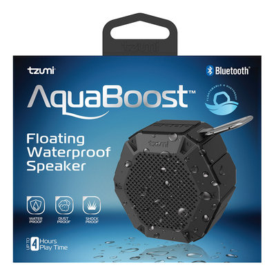 Tzumi Waterproof Mini Speaker