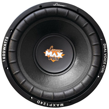 Asstd National Brand Lanzar Car Audio MAXP104D MaxPro Series Small 4? Dual Subwoofer (10IN; 1;200 Watts)