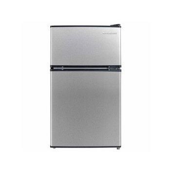 Norpole ENERGY STAR 3.4 cu. ft. 2-Door Mini Refrigerator - NPDR340STE