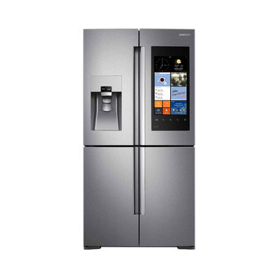 Samsung Family Hub 22.0 Cu. Ft. French Door Refrigerator - Stainless Steel