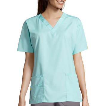 Wink Bravo Five Pocket Top Sea Breeze Medium