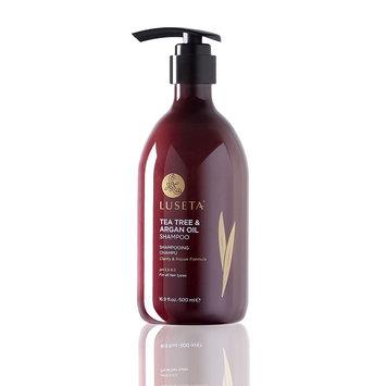 Luseta Beauty Tea Tree & Argan Oil Shampoo 16.9oz for Dry & Flaky Scalp