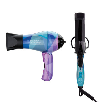 Fhi Heat, Inc. Platform Limited Edition Travel Dryer And Curling Iron - Geometric Flat Iron