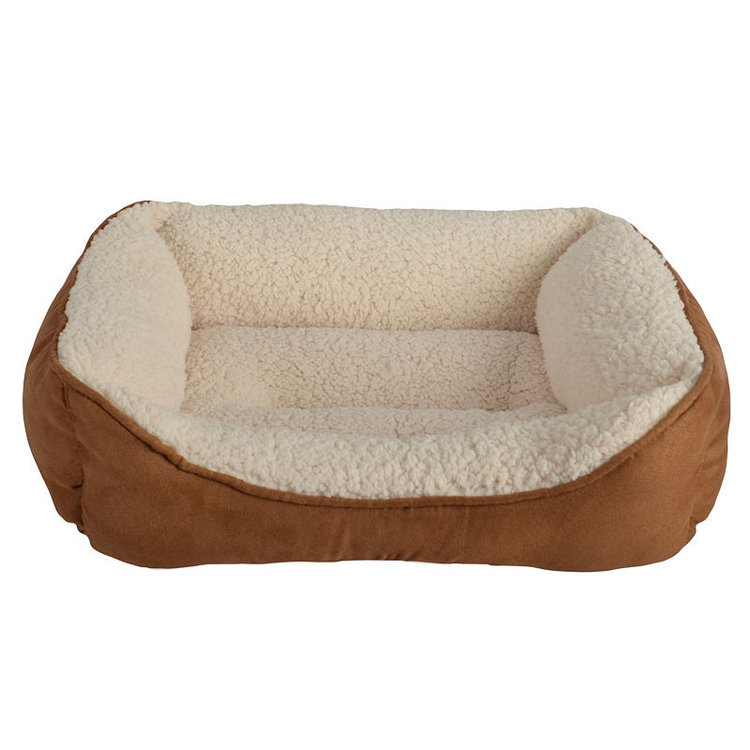 Petra Industries Petspaces SUEDE SML RECT PET BED