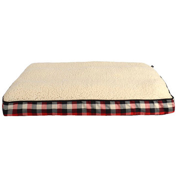Woolrich Buffalo Plaid Mattress Dog Bed ()
