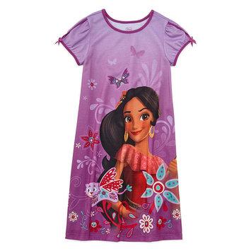 Fisher-price Disney Short Sleeve Elena of Avalor Nightshirt-Big Kid Girls