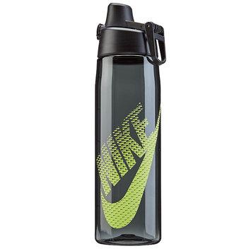 Nike Clear Core Hydro Flow Graphic Swoosh 709ml Water Bottle, Grey