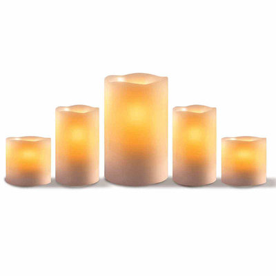 Apothecary Led Candles Everyday Core 5-pc. Flameless Candle