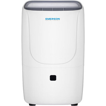 Emerson 50-Pint Dehumidifier with Bucket, Whites