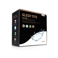 Sleep Tite Encase Mattress Encasement Protector - Vinyl Free - Split Queen