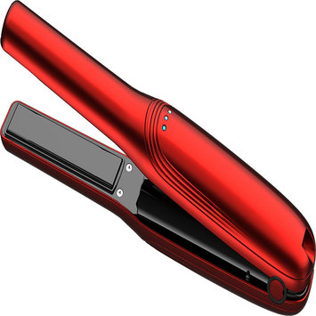 Roman Beauty Rechargable Ceramic Flat Iron RED