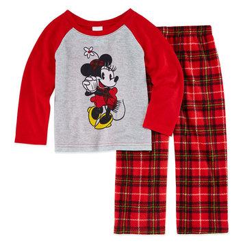 Fisher-price Disney Family Pajamas 2-pc. Minnie Mouse Pant Pajama Set Unisex